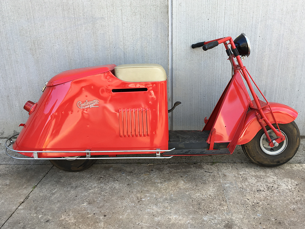 Cushman Road King 50 Series Scooter