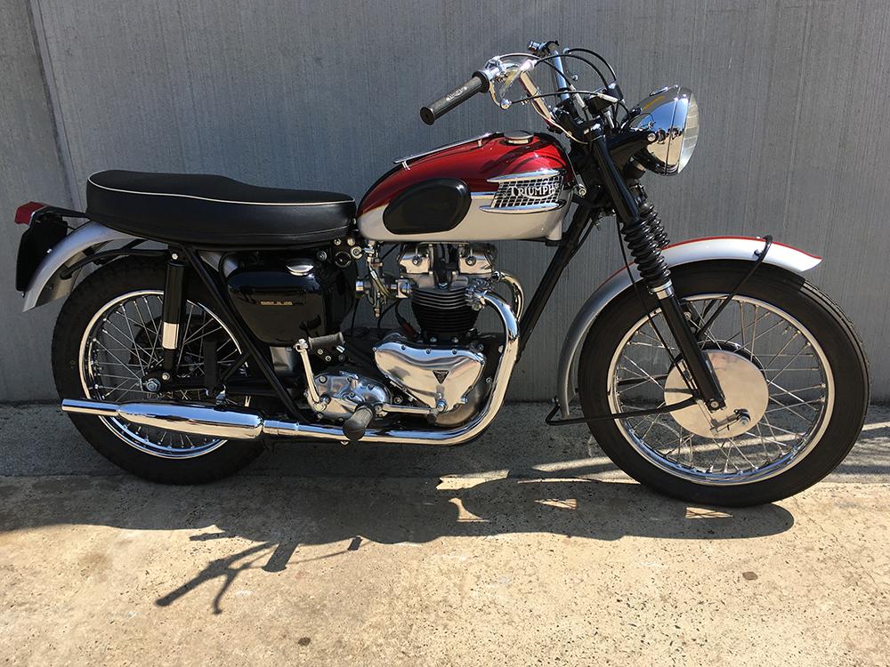 Triumph TR6 650 '62