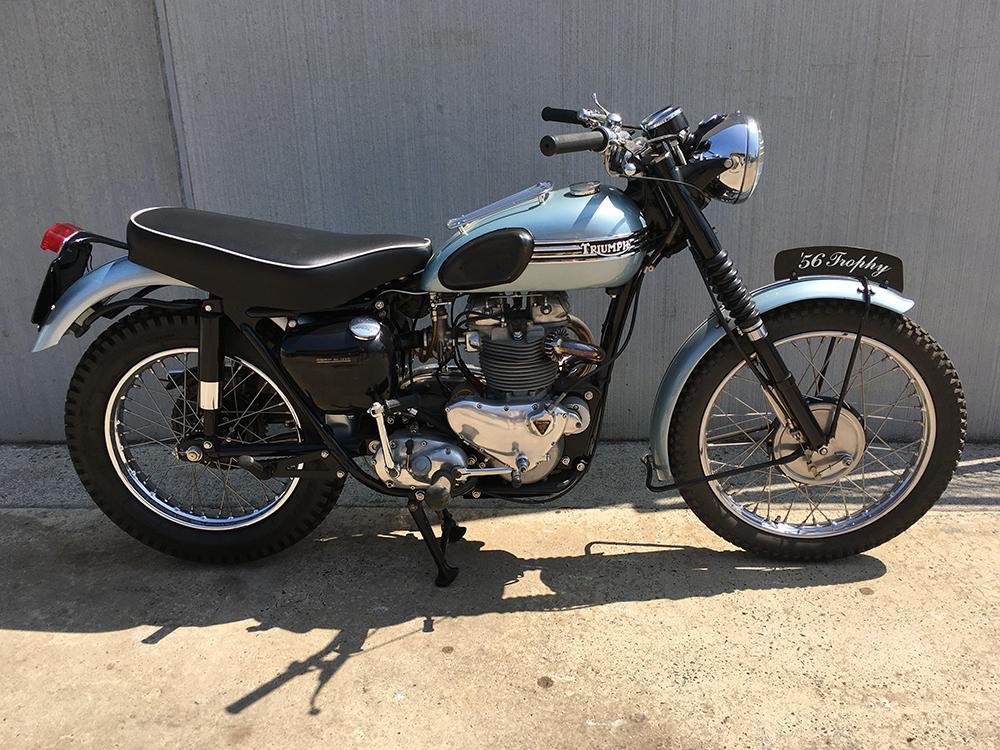 Triumph TR6 650 '56