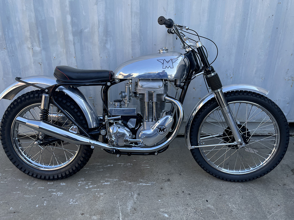 Matchless 350 All Alloy Factory Trials