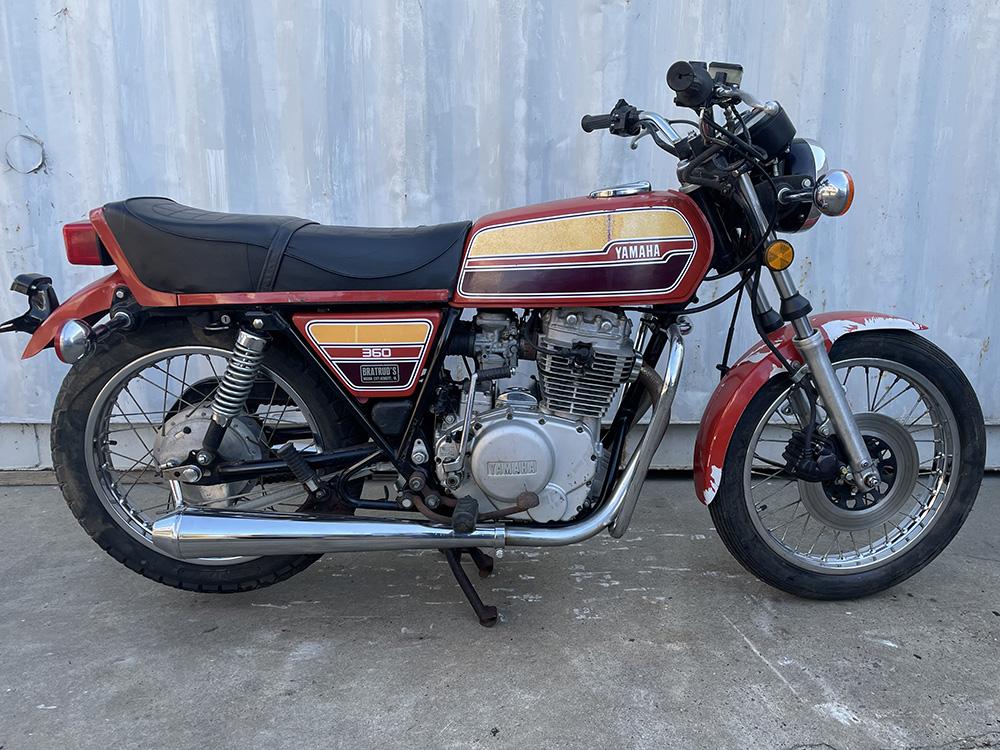 Yamaha XS360 Twin